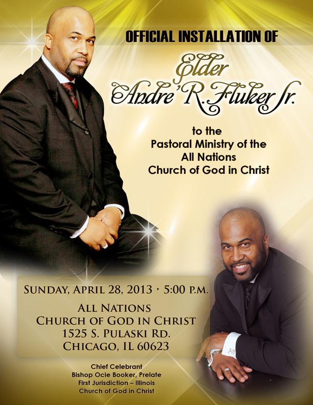 Program Covers For Pastor Installation Service | just b.CAUSE