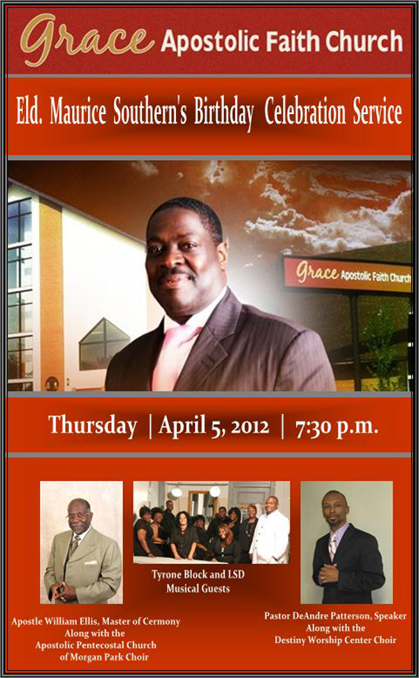 Events - GAFC Pastor's Birthday Celebration