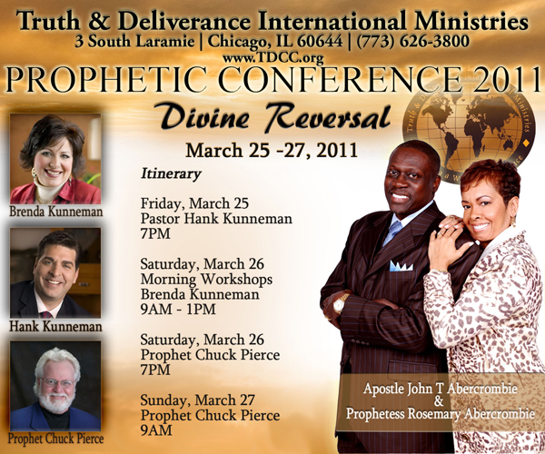 Events - Prophetic Conference
