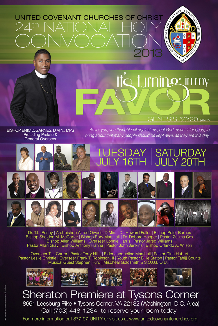 Events - UCC 24th Annual Holy Convocation