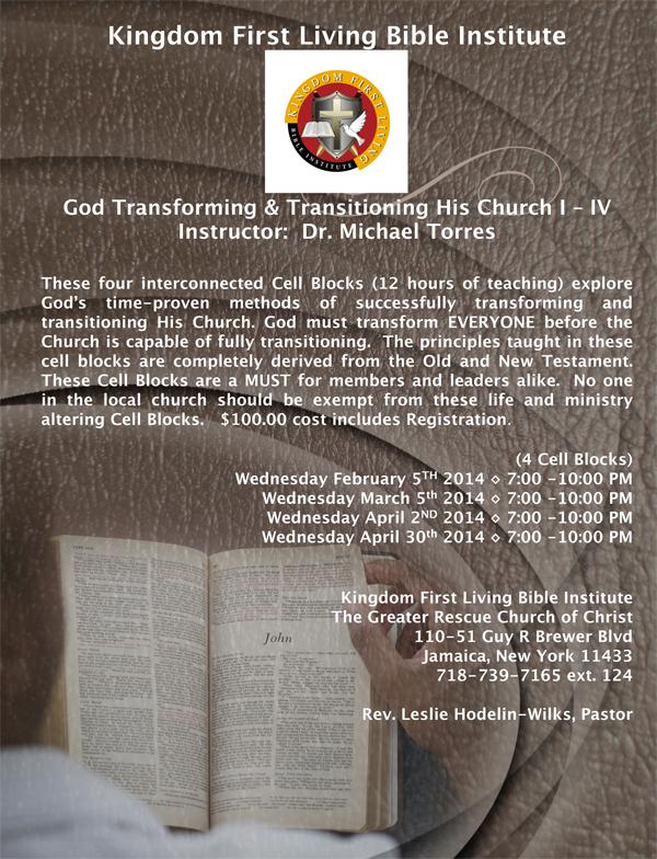 online kingdom seminary