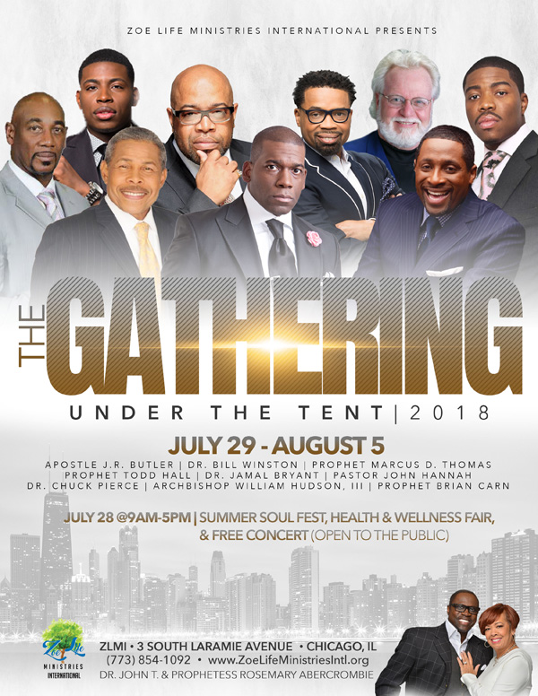 Zoe Life Ministries International The Gathering Under the Tent 2018