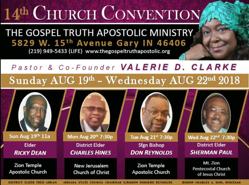 The Gospel Truth Apostolic Ministry 14th Church Convention