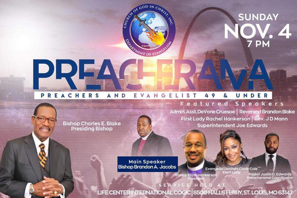 COGIC Department of Evangelism Preacherama | Preachers and