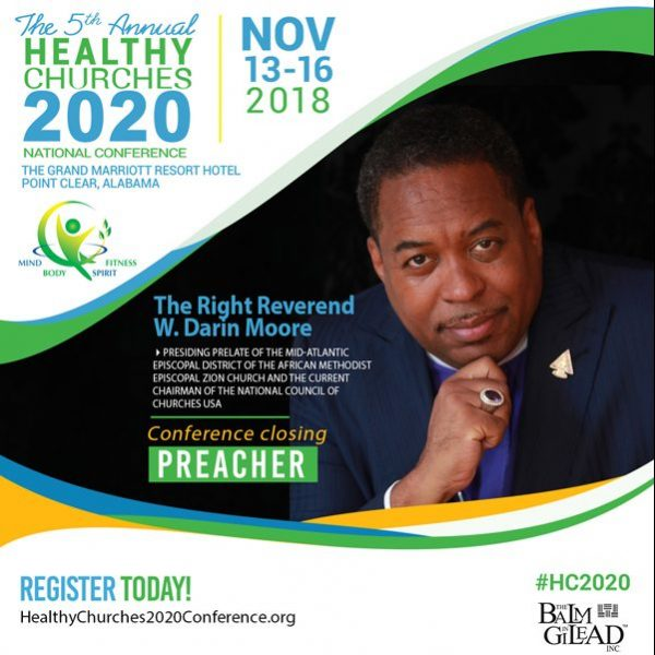 5th Annual Health Churches 2020 National Conference on November 13