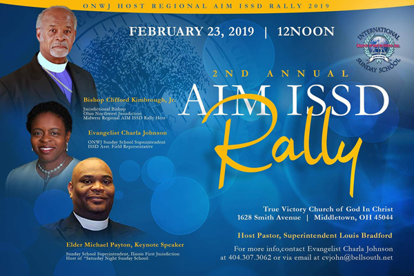 Ohio Northwest Jurisdiction COGIC hosts the Regional AIM ISSD Rally