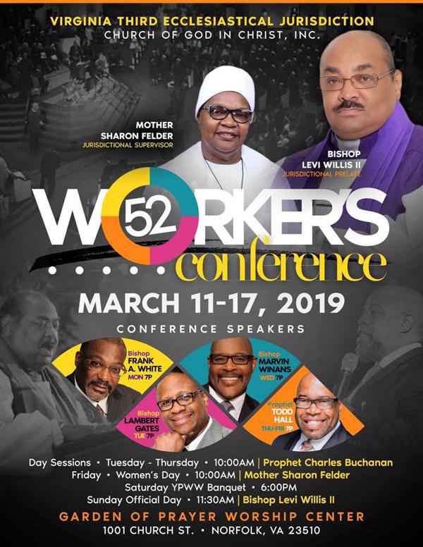 Virginia Third Ecclesiastical Jurisdiction COGIC Workers Conference