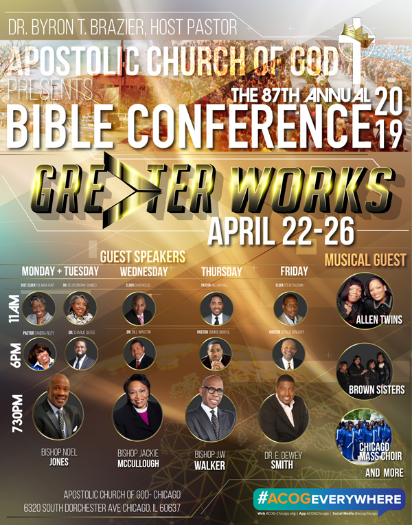 Apostolic Church of God Bible Conference 2019