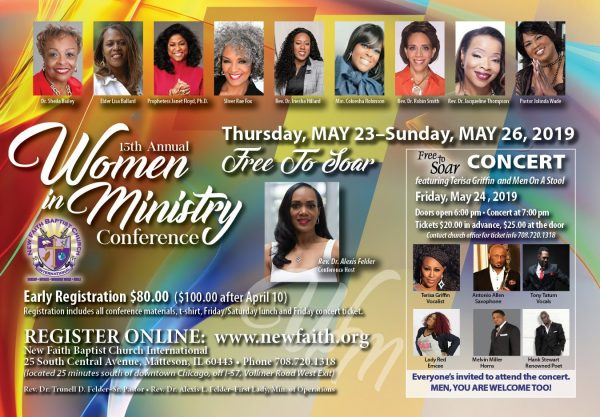 New Faith Baptist Church International Women in Ministry 2019