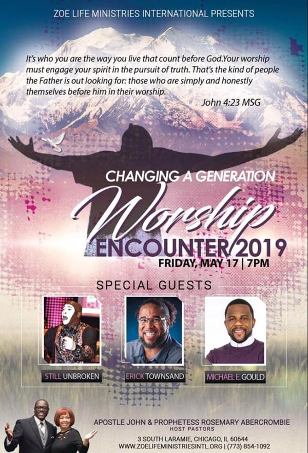 Zoe Life Ministries International Worship Encounter 2019