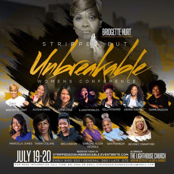 Bridgette Hurt presents the Stripped But Unbreakable Women's