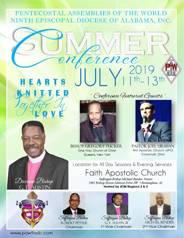 Alabama District Council PAW Summer Conference 2019