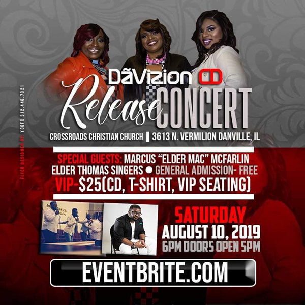 DaVizion CD Release Concert 2019