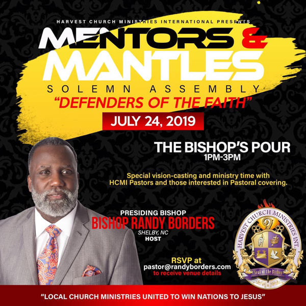 Mentors & Mantles July 24, 2019