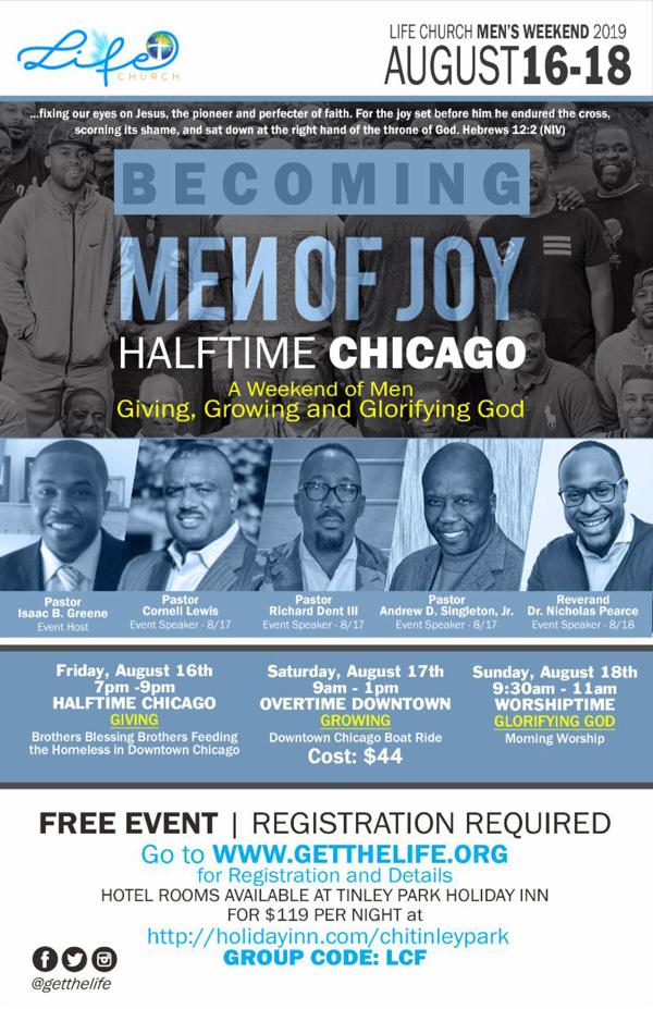 Life Church Mens Weekend 2019
