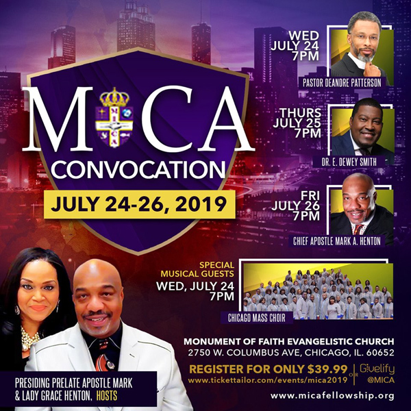 Monument International Church Assemblies Convocation 2019