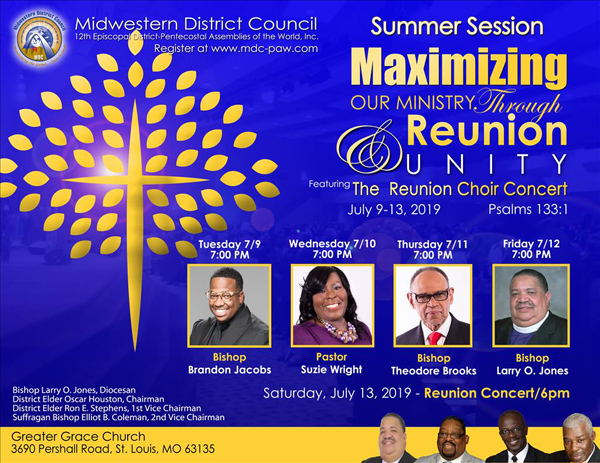 Midwestern District Council July 2019