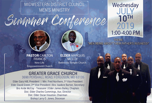 Midwestern District Council of the PAW Men's Ministry Summer Conference on July 10, 2019