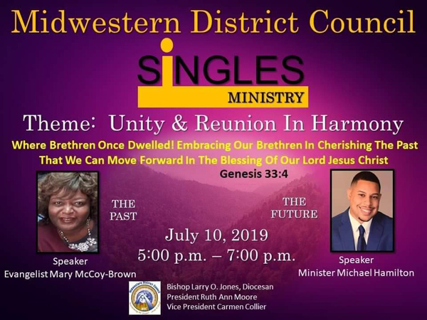 Midwestern District Council Singles Ministry 2019