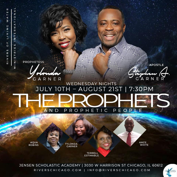 Rivers of Living Water Prophets 2019