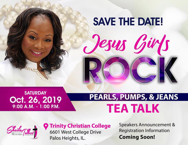 Sheila Tolbert Ministries Tea Talk October 2019