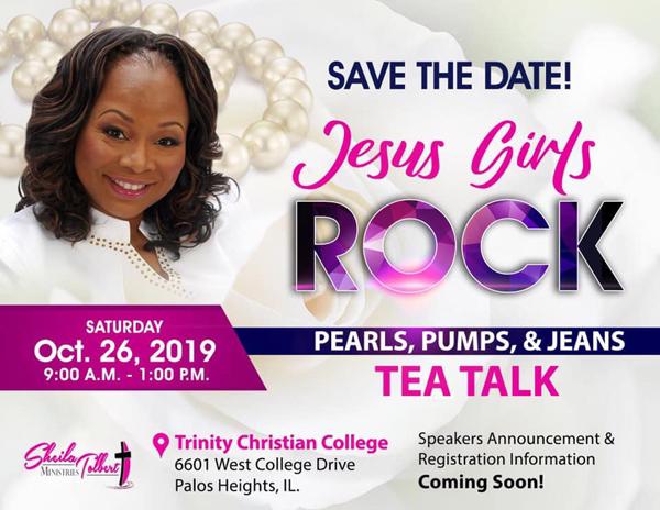 Sheila Tolbert Ministries Tea Talk October 2019
