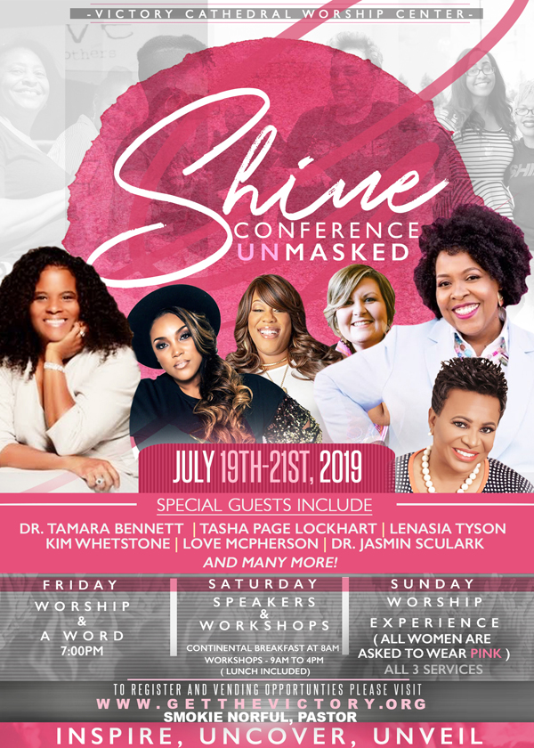 victory cathedral worship center shine womens conference 2019