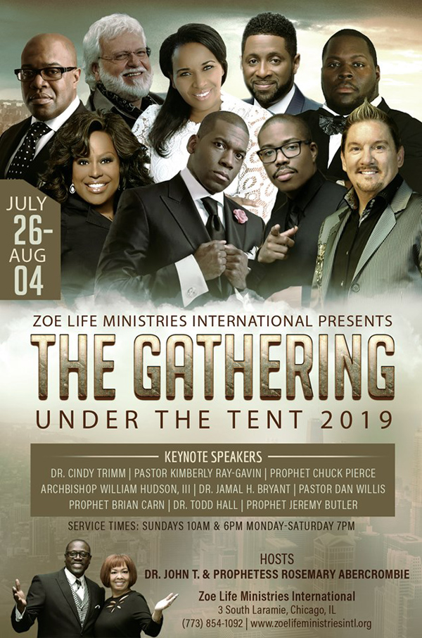 Zoe Life Ministries the Gathering 2019