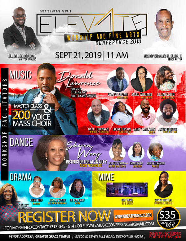 Greater Grace Temple Elevate Conference 2019