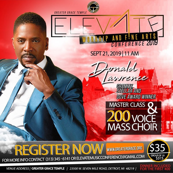 GGT Elevate with Donald Lawrence 2019