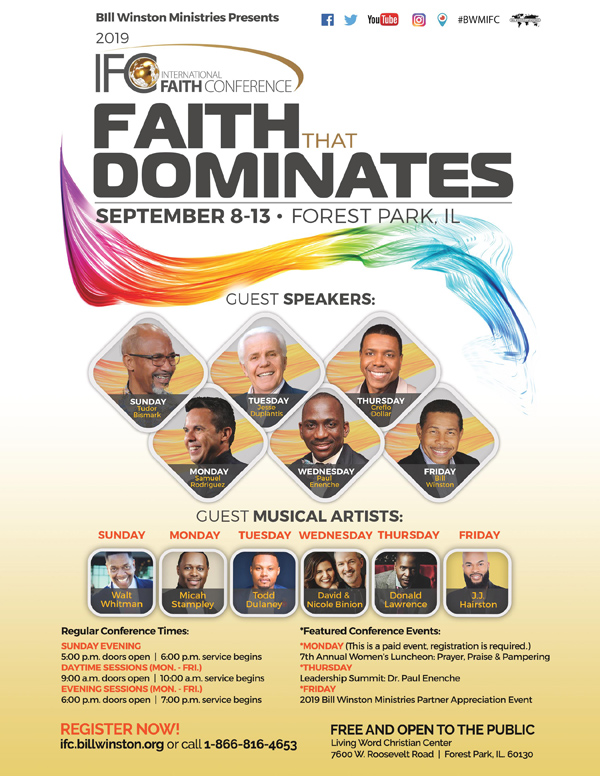 International Faith Conference 2019