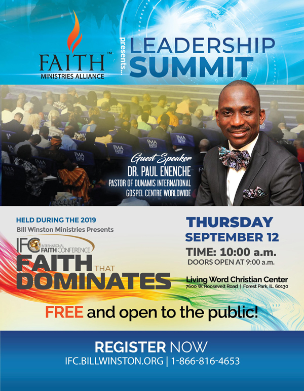Faith Ministries Alliance Leadership Summit 2019