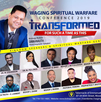 Waging Spiritual Warfare 2019