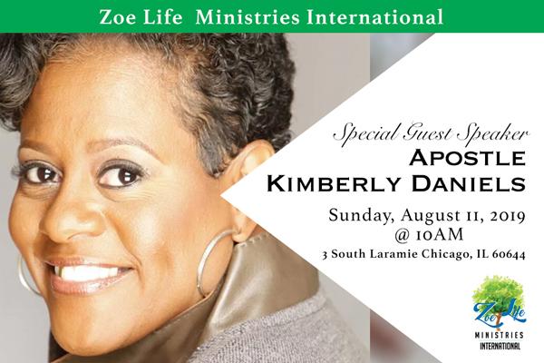 Zoe Life hosts Kimberly Daniels