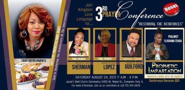 Kingdom Love Language 3rd Prayer Breakfast
