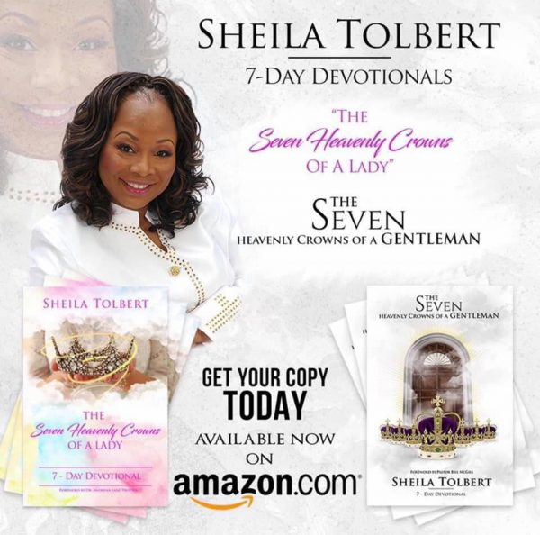 Sheila Tolbert Devotional Books