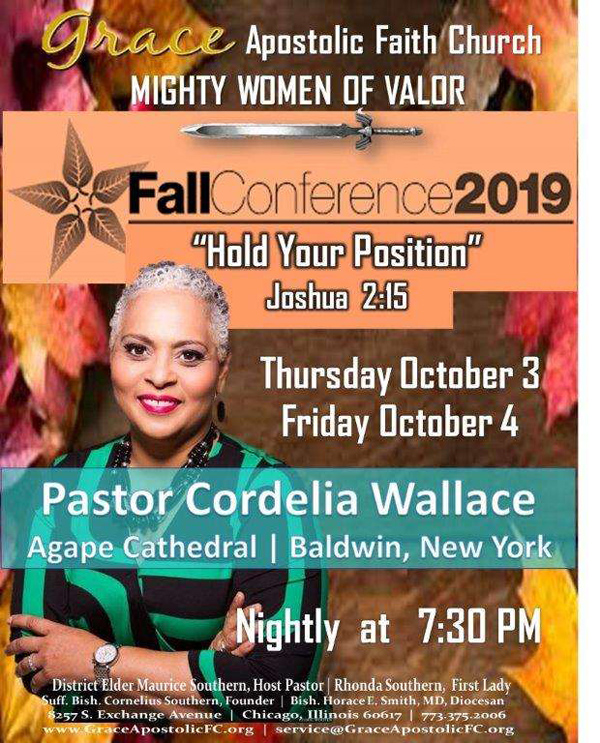 Grace Apostolic Faith Church Fall Womens Conference 2019