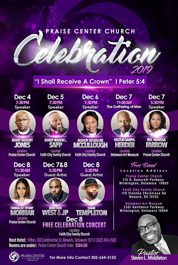 Praise Center Church Celebration 2019