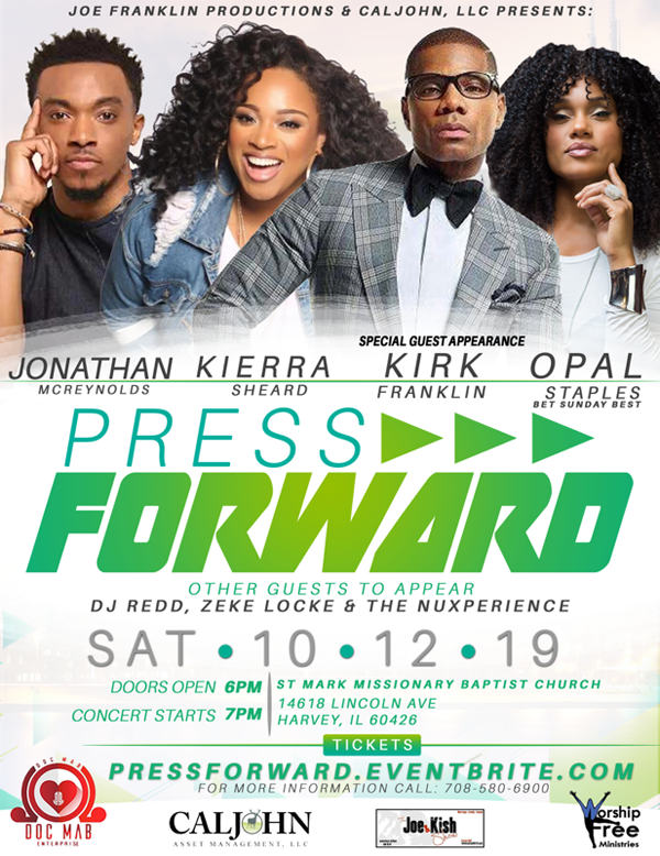 Press Forward Concert October 2019