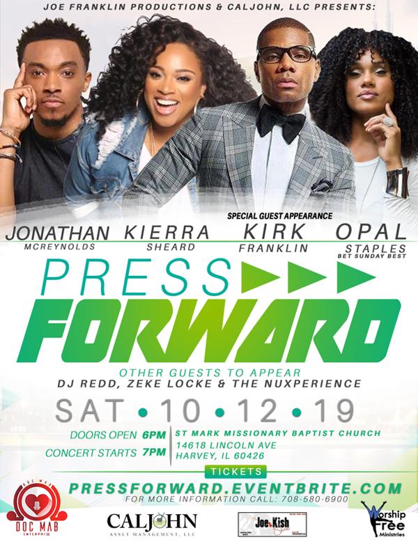Press Forward Concert October 2019