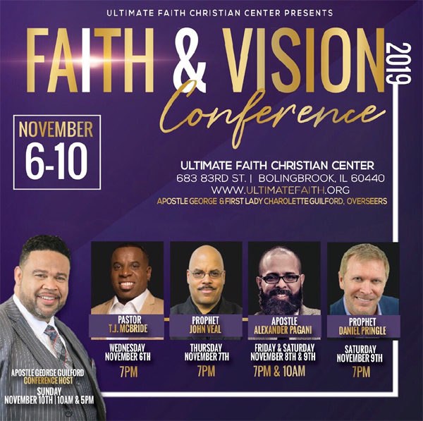 UFCC Faith and Vision Conference 2019