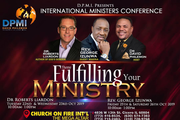 DPMI International Ministers Conference October 2019