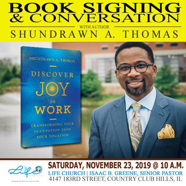 Life Church Book Signing 2019