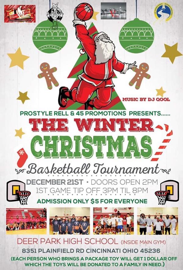 The Winter Christmas Basketball Tournament 2019