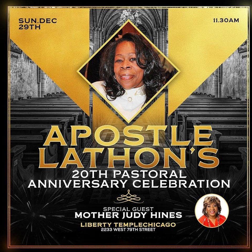 Apostle Sheraine Lathon Pastoral Anniversary 2019