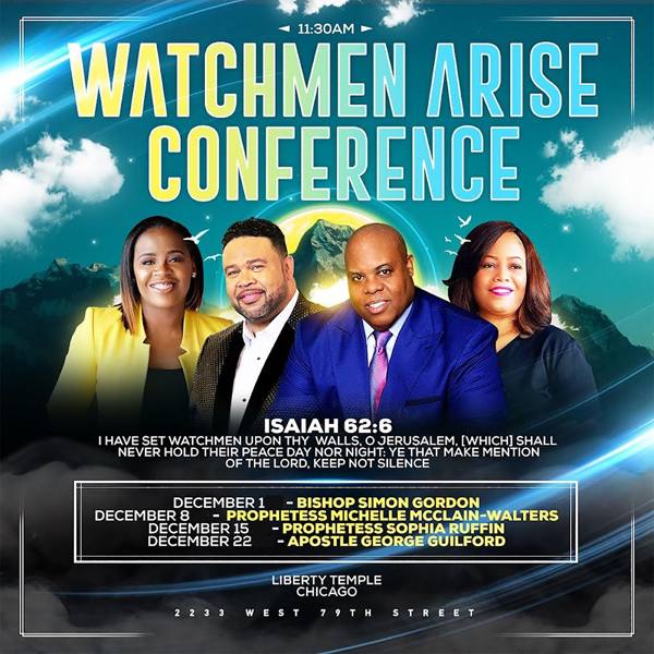 Liberty Temple Chicago Watchmen Arise Conference 2019