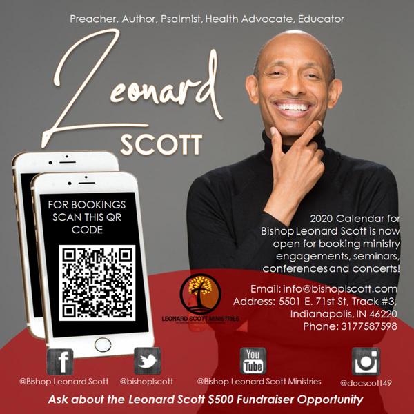 Leonard Scott Ministries 2020 Calendar