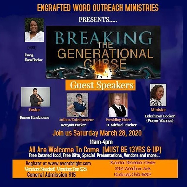 Engrafted Word Outreach Ministries Breaking The Generational Curse March 2020