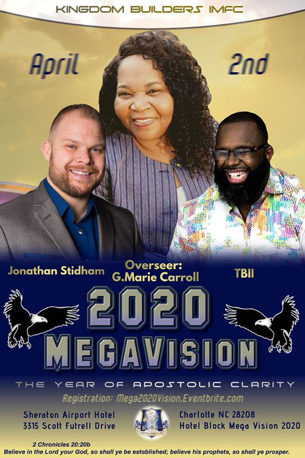 G Marie Carroll 2020 MegaVision