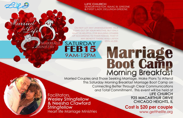 Life Church Marriage Boot Camp Feb 2020